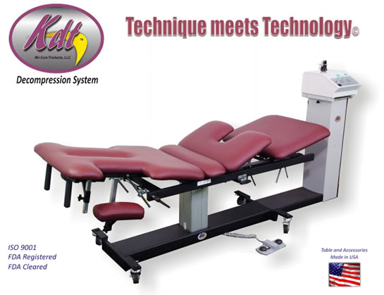 Traction Table for Back Pain